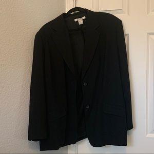 Nygard Conection Black Structured Blazer